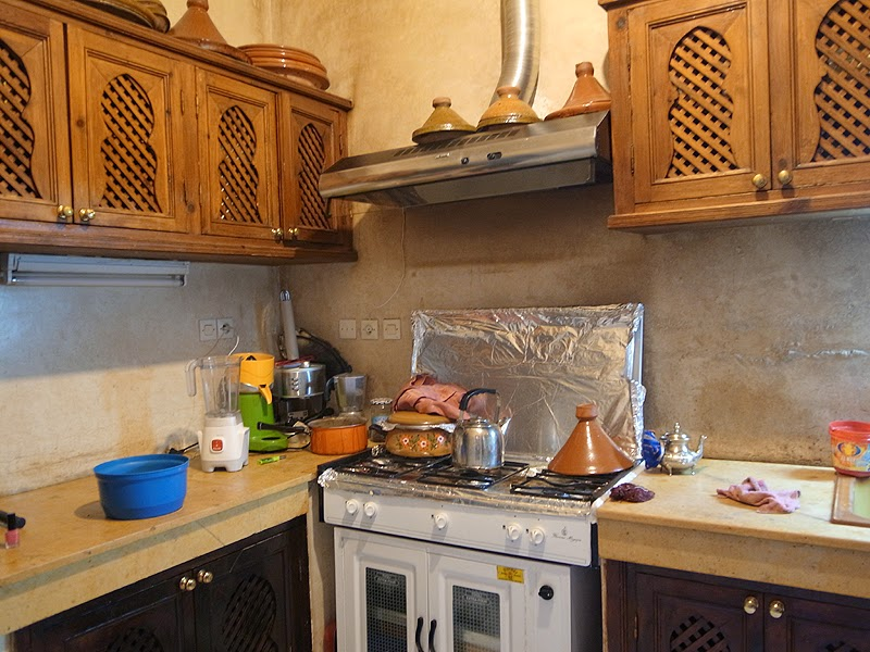 リヤドのキッチン