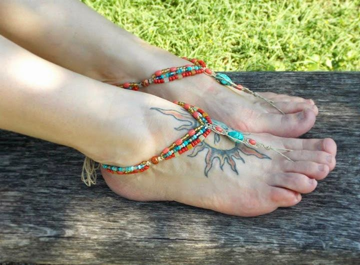Elegant Foot Jewelry Ideas