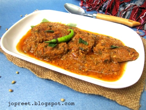 Indian Kitchen: Indian Salmon Fish Curry - Without Coconut