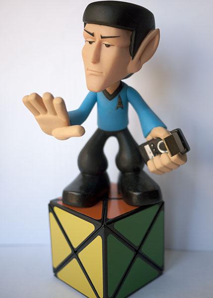 Rubik Dino Spock Star Trek
