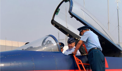 USAF Chief of Staff With J-10
