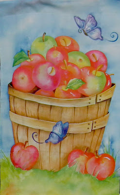 Apple-themed painting at 2011 Master Gardeners Harvest Festival