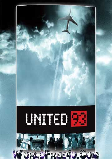 Poster Of United 93 (2006) Full Movie Hindi Dubbed Free Download Watch Online At worldfree4u.com