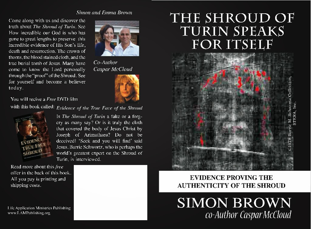 The Shroud of Turin Speaks for Itself BOOKLET.