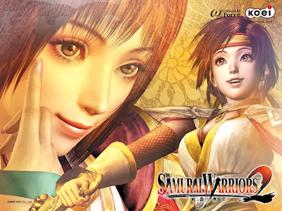 Samurai Warriors 2 Game Wallpaper
