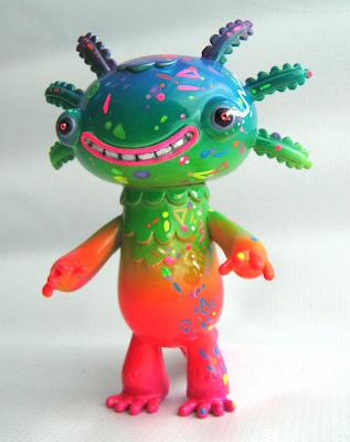 Kolorines Wooper Looper Custom Vinyl Figure by Frank Mysterio
