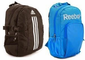 Flat 60% Off on Adidas & Reebok Backpack & Duffle Bags @ Flipkart (Limited Period Offer)