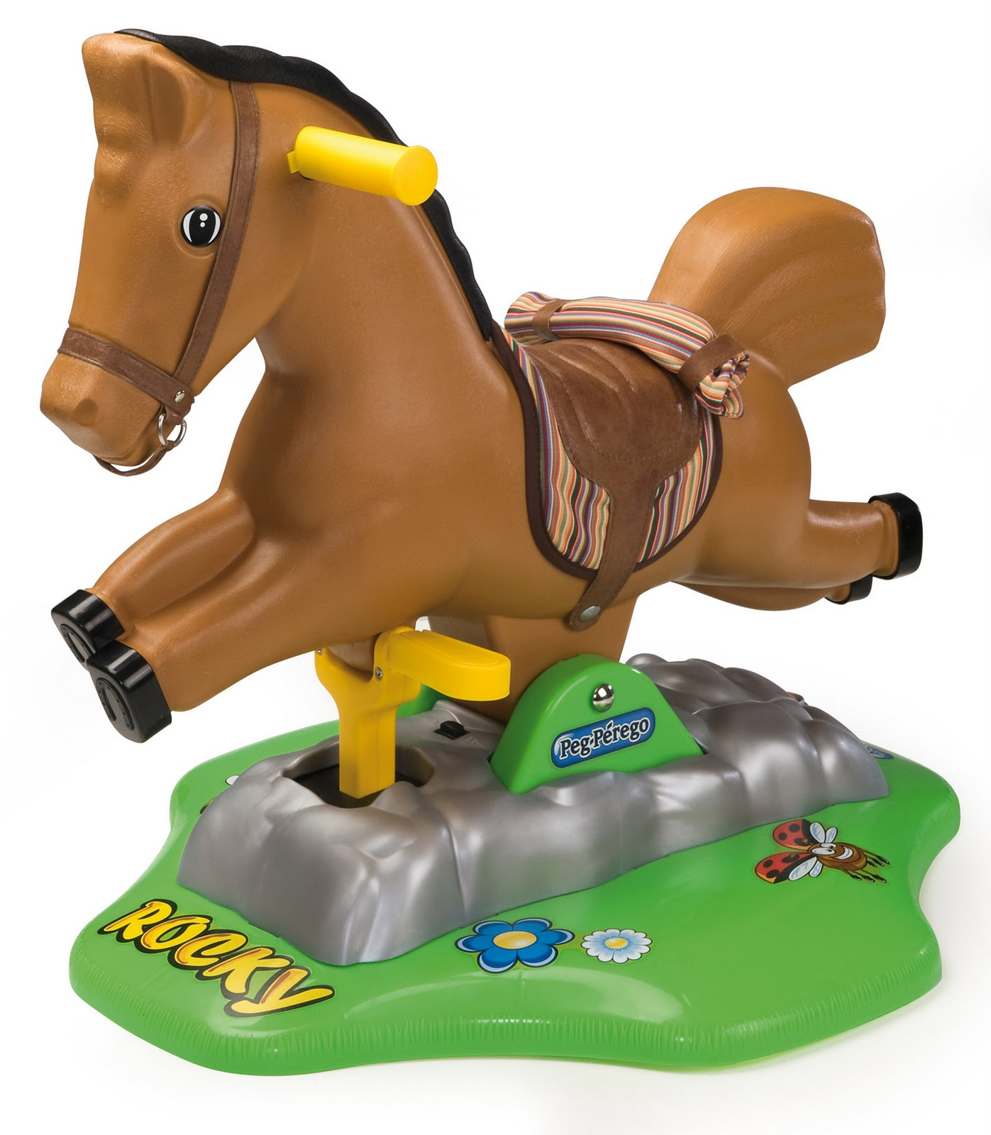 Singapore Toy Rental Peg Perego Battery Powered Rocking Horse