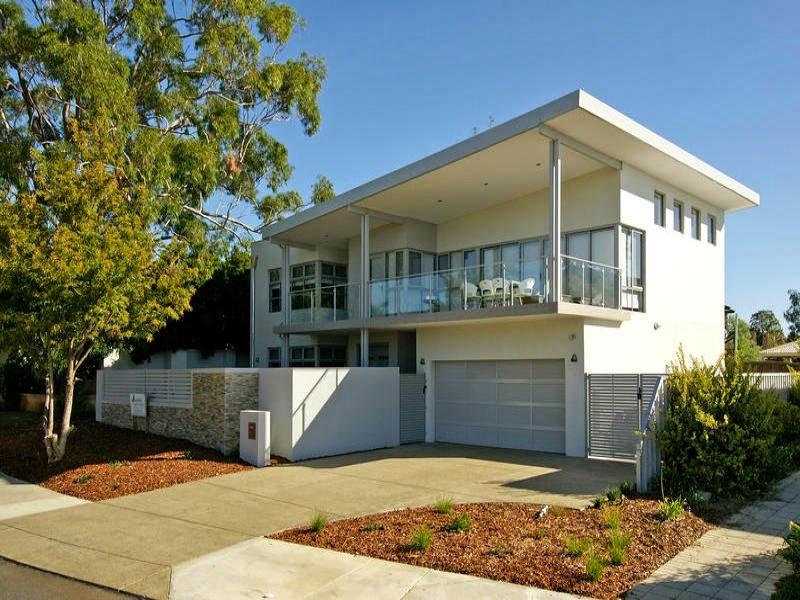 Fachadas de casas modernas fachadas de casas modernas con for Fotos de casas modernas con balcon