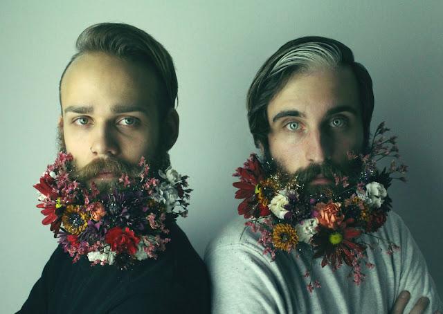 barba com flor