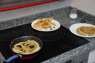 Recipe for cooking fritters
