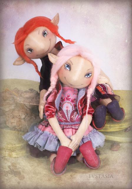Девчушки баловницы