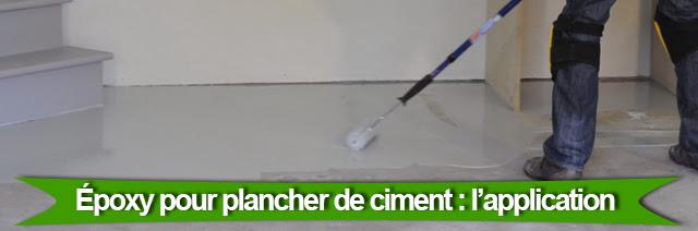 Colobar peinture et d coration comment appliquer l poxy - Temps de sechage ciment ...