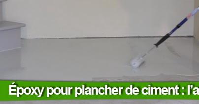 Colobar peinture et d coration comment appliquer l poxy 100 solide sur un plancher de ciment - Temps de sechage ciment ...