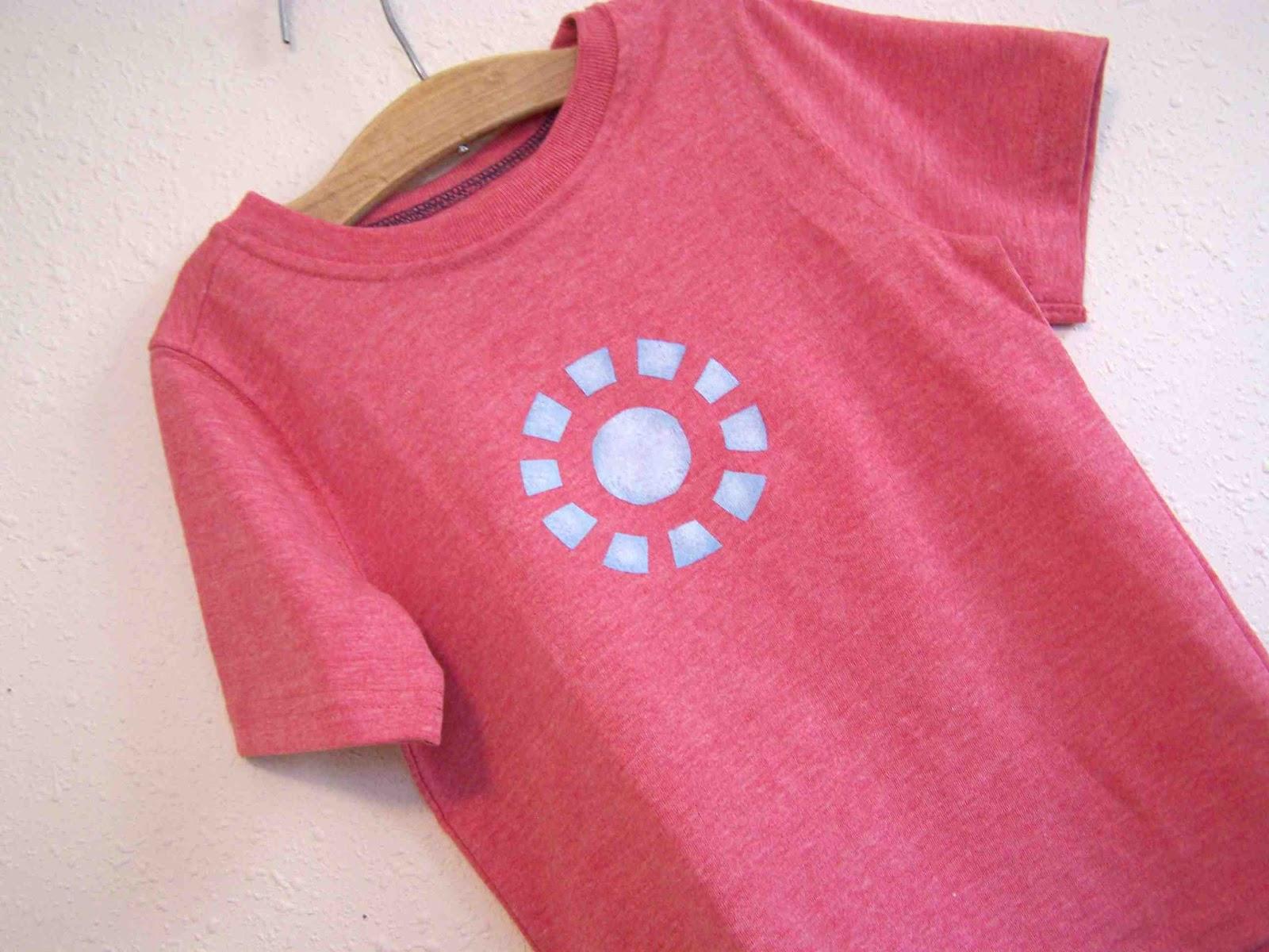 Iron Man Arc Reactor Inspired T Shirt
