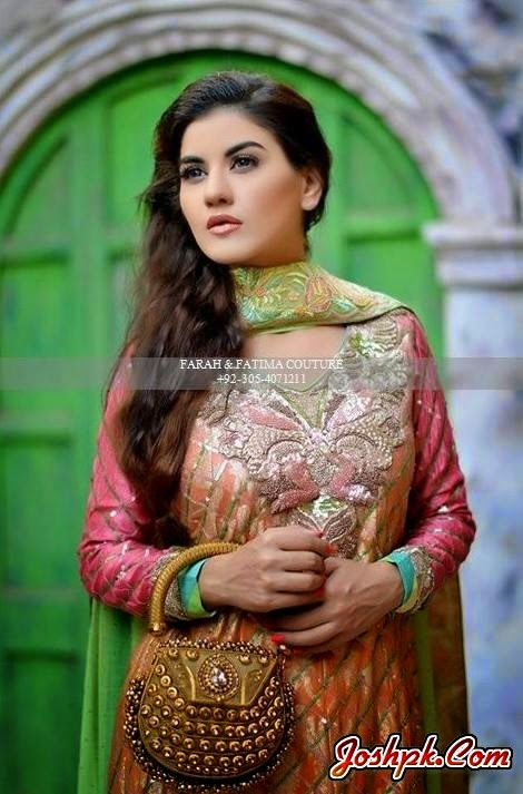 Farah and Fatima Eid-Ul-Fitr Wear Couture Collection 2014 For Women