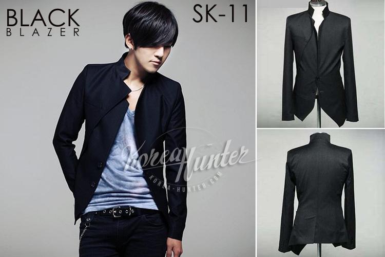 KOREA-HUNTER.com jual murah Black Blazer Korean Style | kaos crows zero tfoa | kemeja national geographic | tas denim korean style blazer