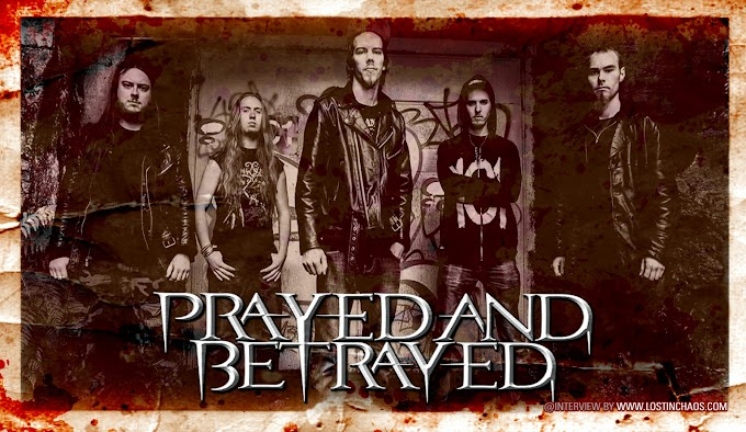 PRAYED AND BETRAYED Interview (Finland)