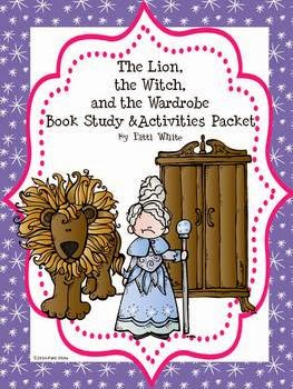 http://www.teacherspayteachers.com/Product/The-Lion-the-Witch-and-the-Wardrobe-Book-Study-Activities-Packet-1139856