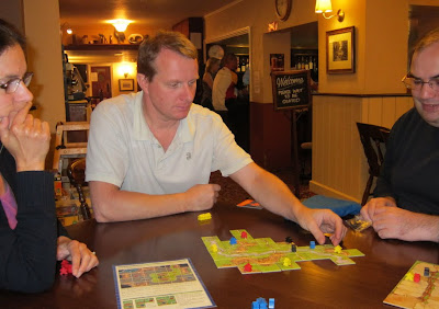 Carcassonne - The players