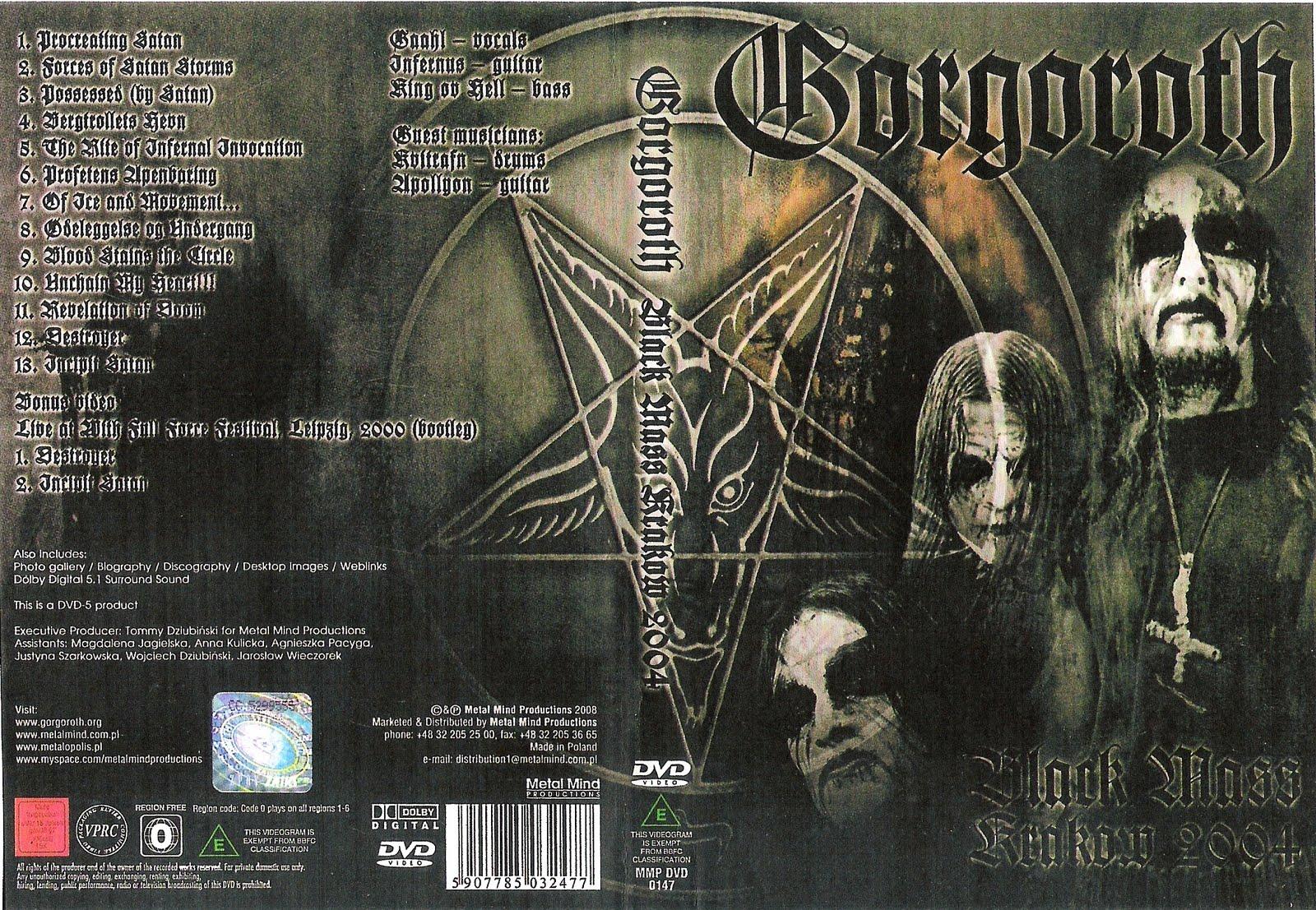 Resultado de imagen para gorgoroth Black Mass Krakow