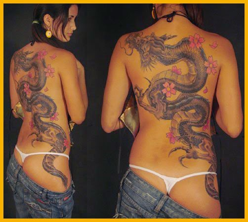 tatoo de dragones