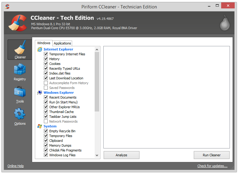 Ccleaner pro1