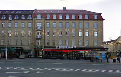 my hotel in Aarhus