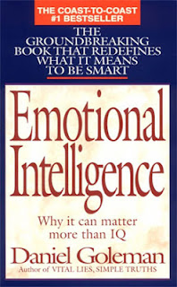 Book cover; Emotional Intelligence by Daniel Goleman