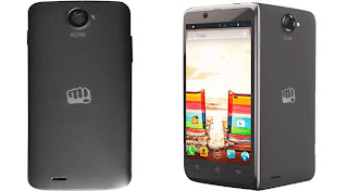 Micromax Canvas EAGO A113 front and back