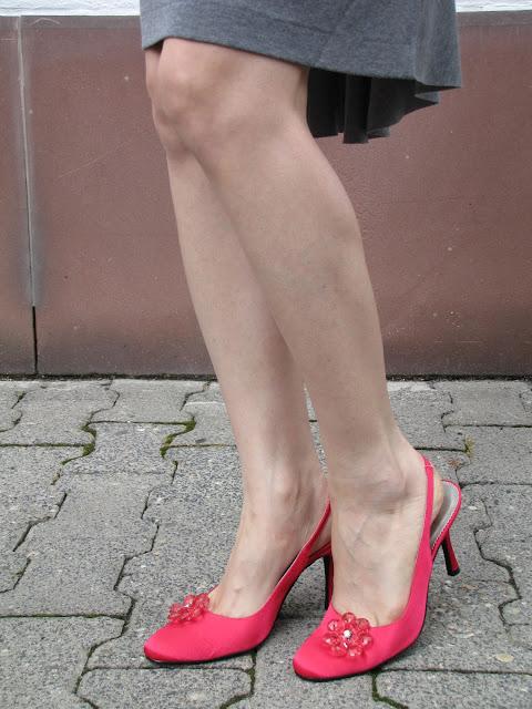 pink shoes, Menbur Schuhe, Abendschuhe Menbur