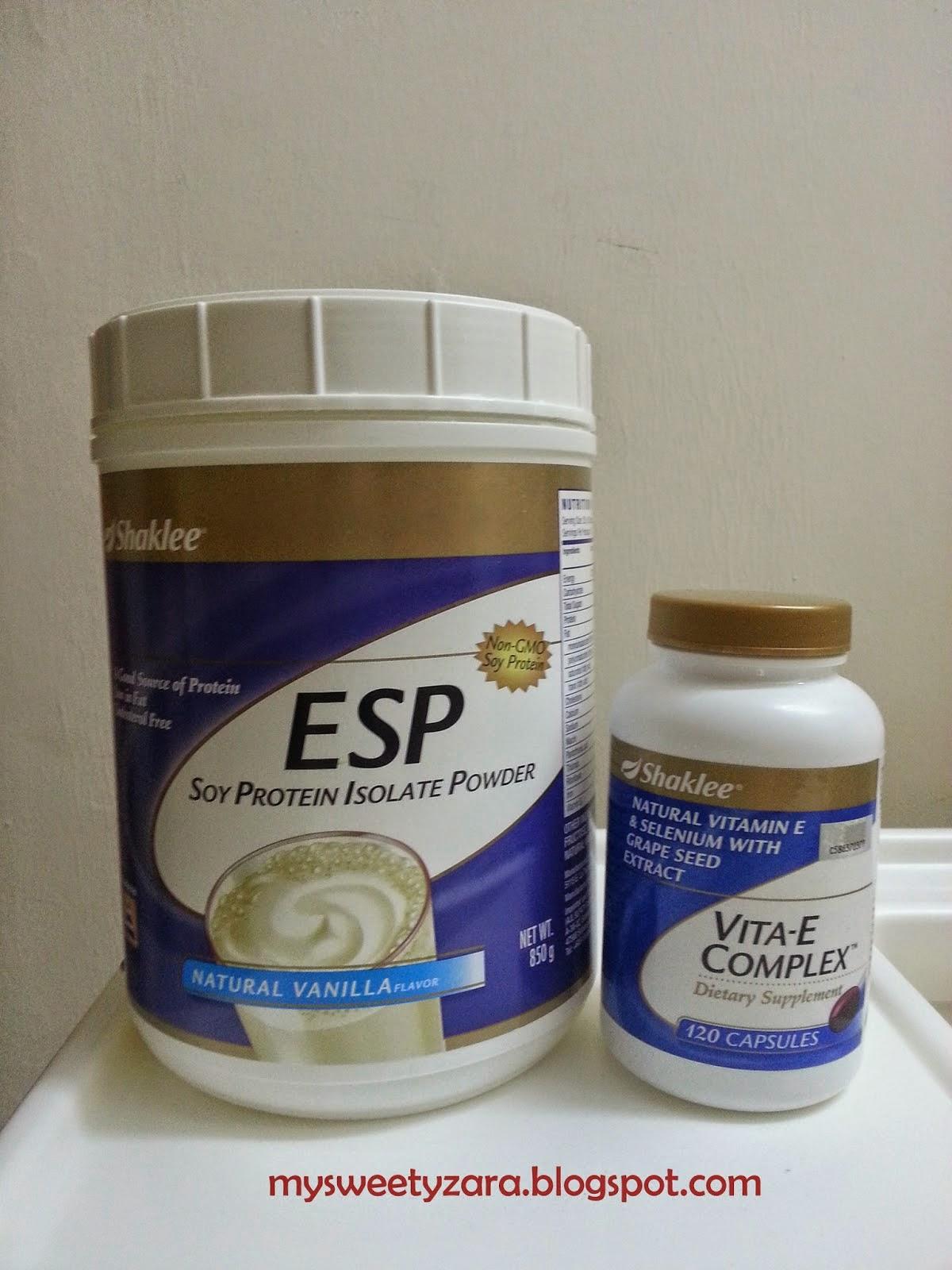 Parut Hilang Dengan ESP Dan Vitamin E