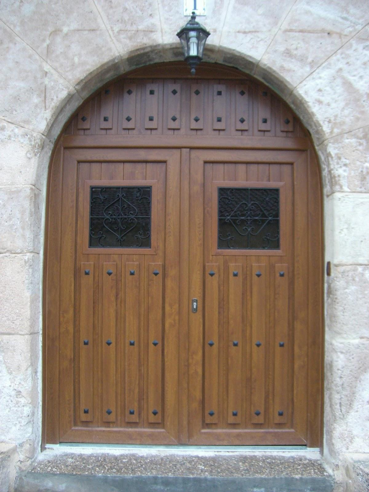 Puertas Rusticas De Aluminio Elegant Puertas Y Ventanas Rusticas  ~ Puertas De Entrada De Aluminio Rusticas