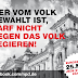 Wahlaufruf der NPD Düsseldorf zu den EU-Wahlen