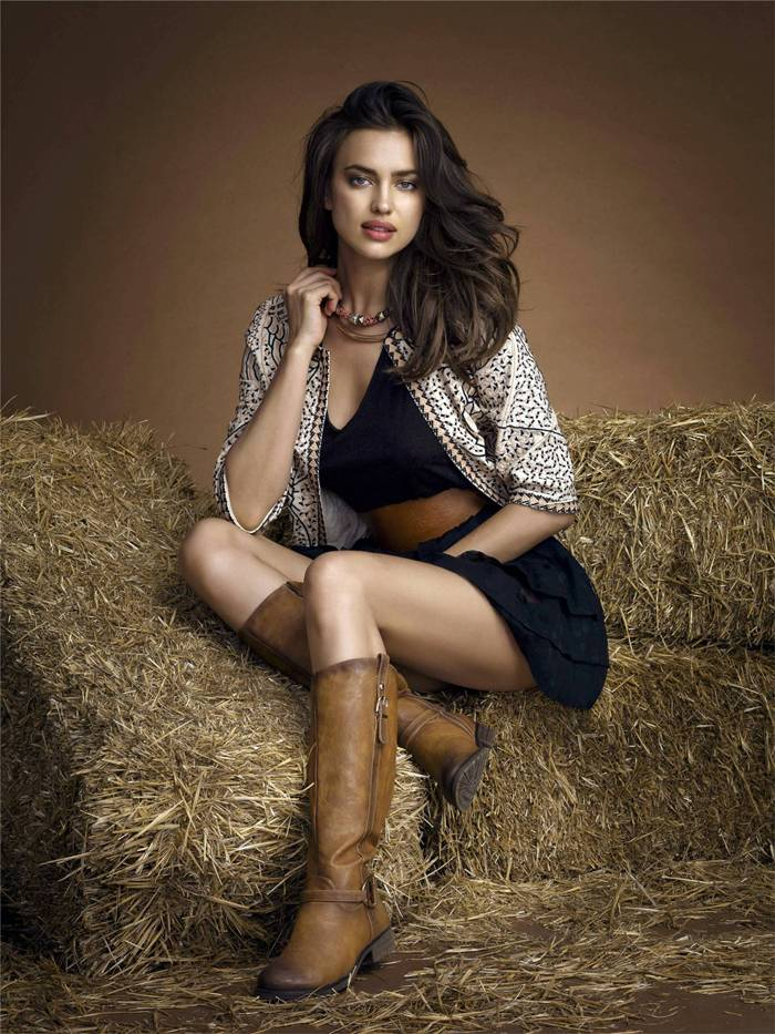Xti Footwear Irina Shayk — Photoshoot
