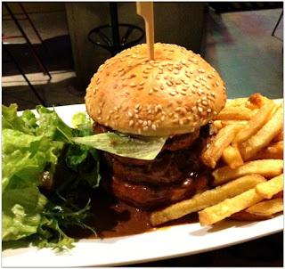 image burger L'atelier de l'écharpe à Toulouse