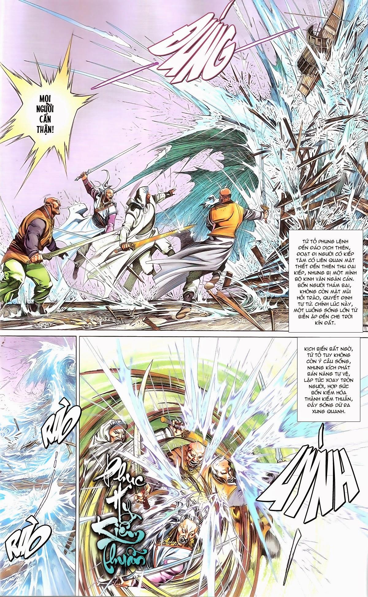Phong Vân chap 674 – End Trang 5 - Mangak.info