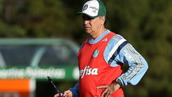 Marcelo Oliveira quer ver o Palmeiras no G-4