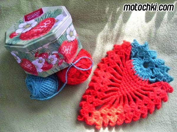 Fresas al crochet con patrón