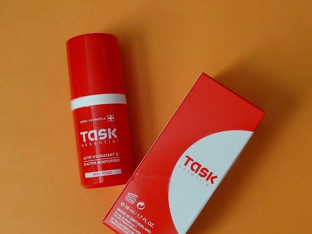 Task Essential Skin Feed O2 Moisturizer