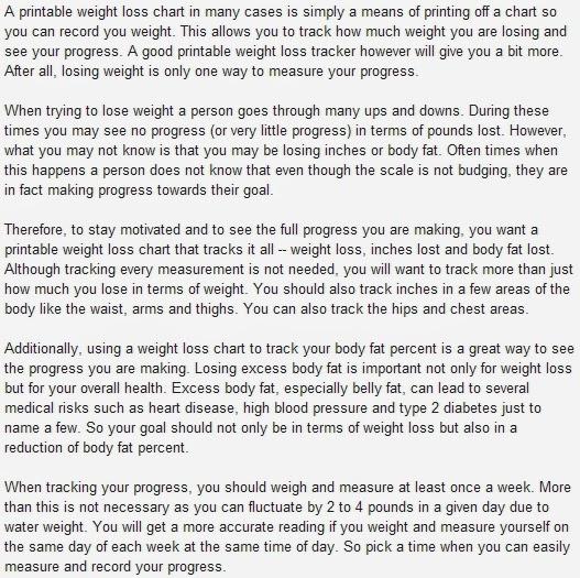 weight loss yoga printable weight loss chart