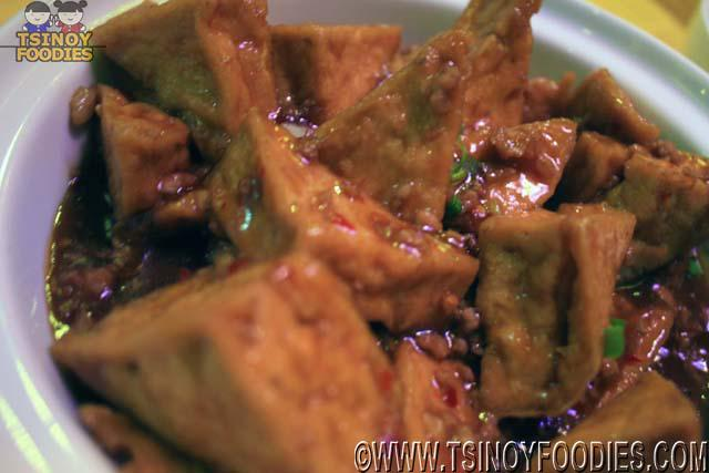sauteed fermineted tofu in special sauce