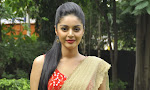 Sanam Shetty Glamorous half saree photos-thumbnail