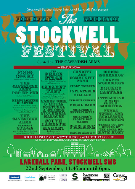 Stockwell Festival flyer on vassallview.com