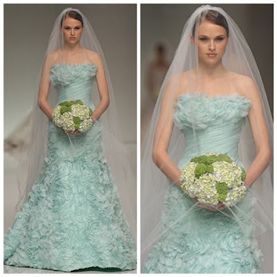 Vestidos de Noiva verde