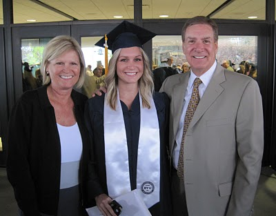 Hayden's graduation from BYU