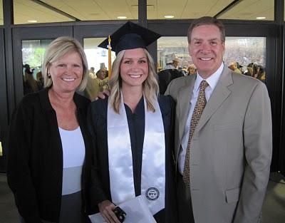 Hayden's graduation from BYU