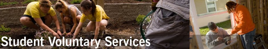 Ball State University's Student Voluntary Services