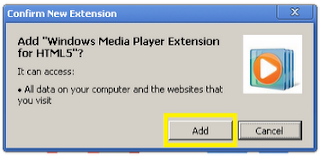 Windows Media Player Plugin Untuk Chrome