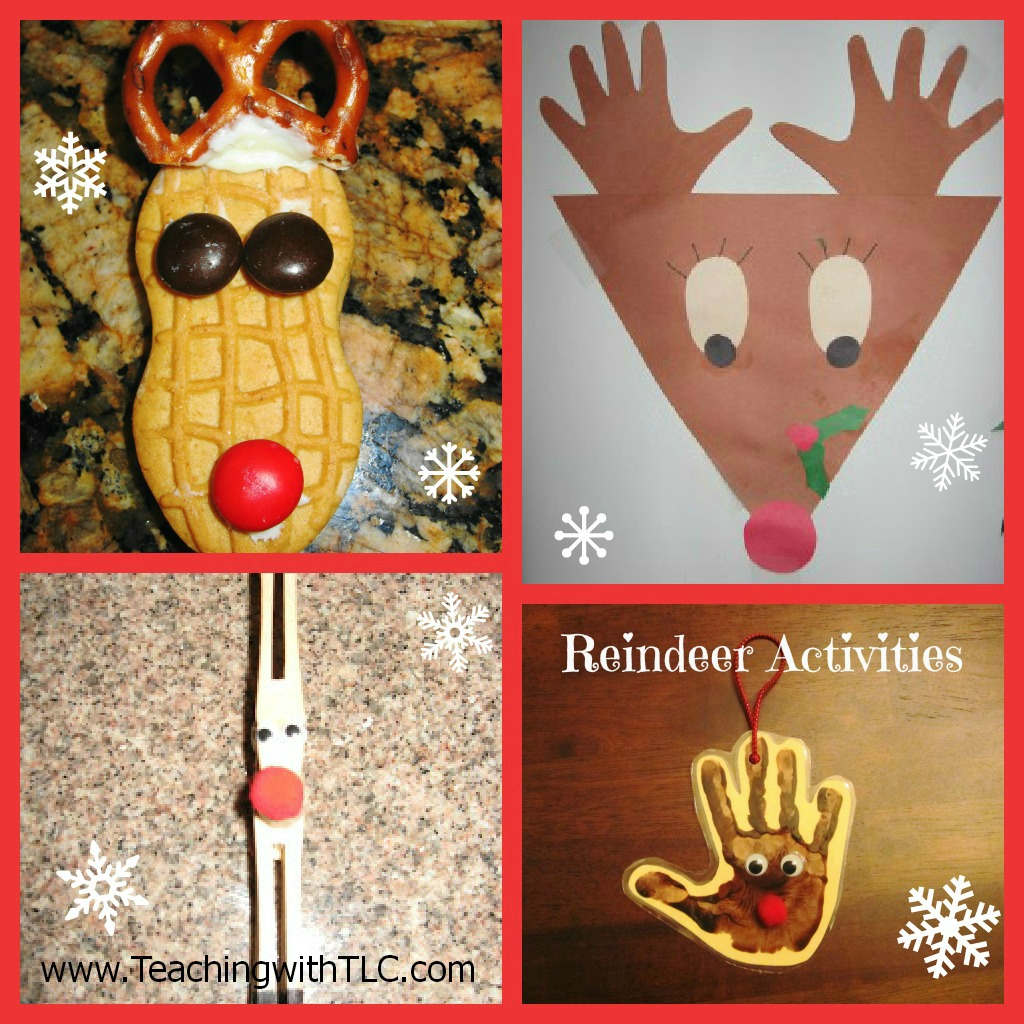 Teaching with tlc fun reindeer activities for Reindeer project